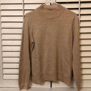 Laura Scott Gold sparkle sweater-disregard wrinkle
